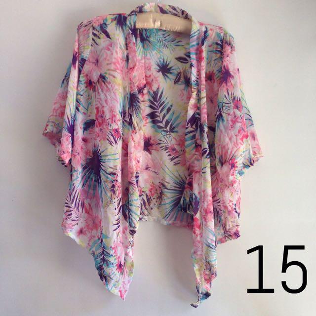 Kimono #15 Beach Cover Up