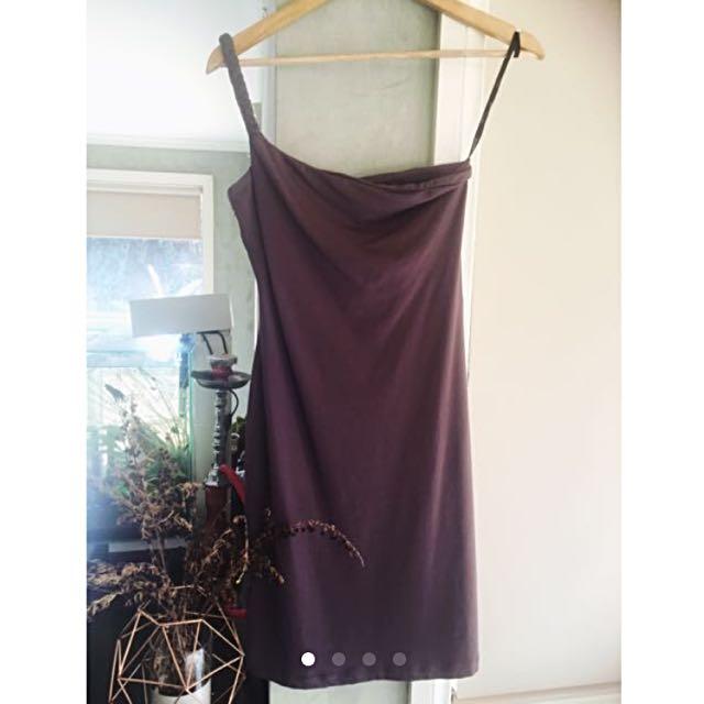 Kookai Plaited One Strap Dress