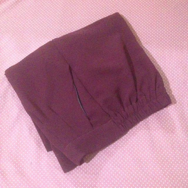 kulot dark purple