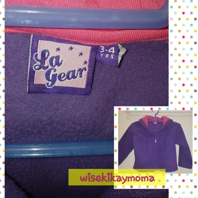 LA GEAR Hooded Jacket Girl 3-4yo