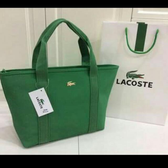 Lacoste With Paper Bag
