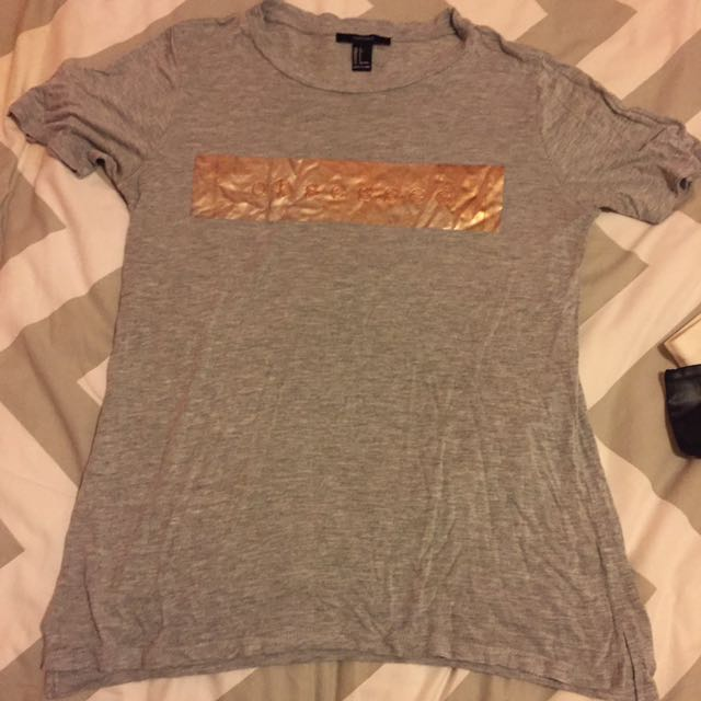 "Ladies Size Small ""obsessed"" T Shirt"