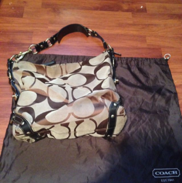 Large Coach Bag! Great Condition!