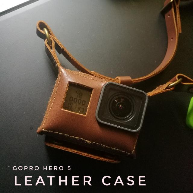 Leather Case For GoPro Hero 5