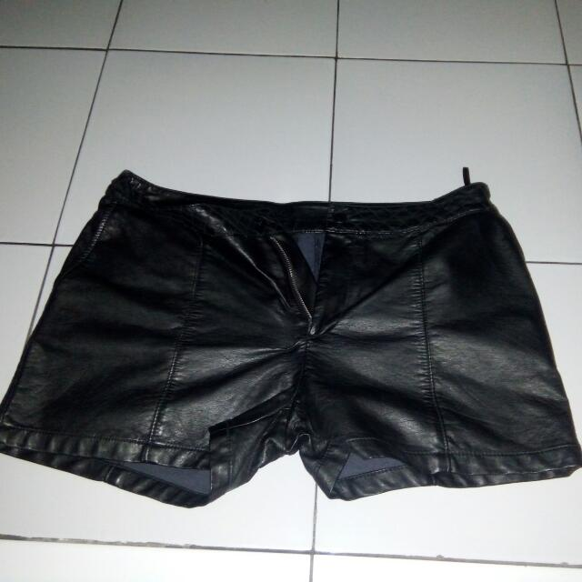 2nd Leather Hot Pants