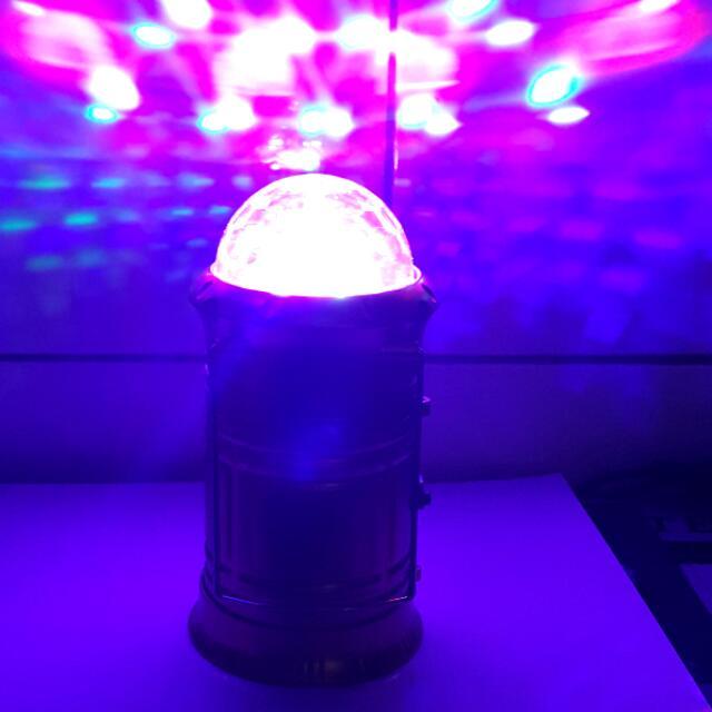 七彩LED露營燈