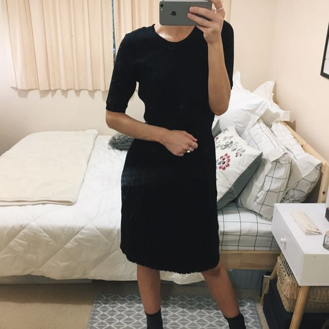 Leona Edmiston Knit Dress