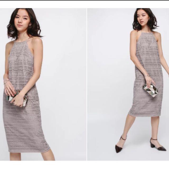 d3b6650a09b6df LF: Rondea Midi In Blush, s, Women's Fashion, Clothes, Dresses ...