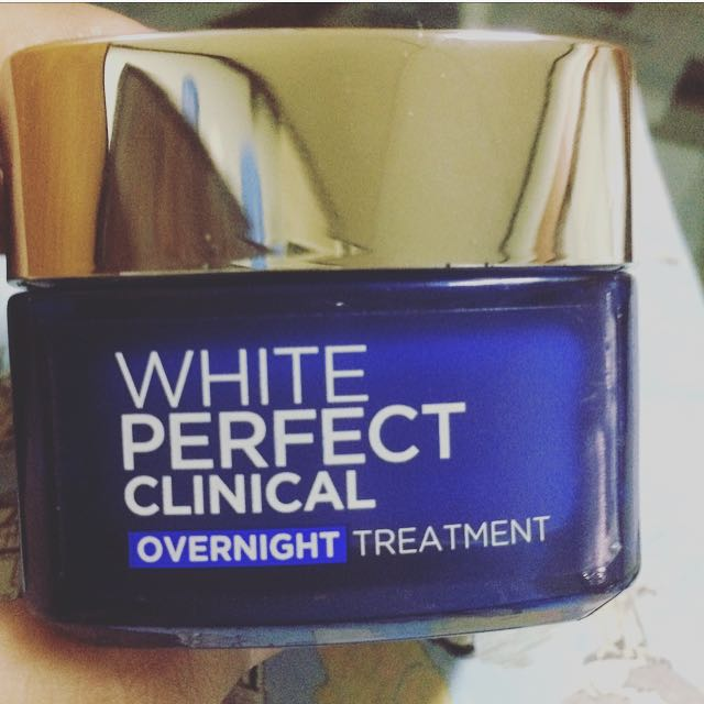 L'Oreal Paris White Perfect Clinical Overnight Treatment