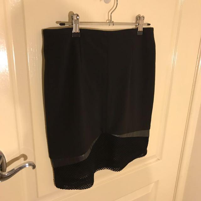 Lumiér Black Skirt