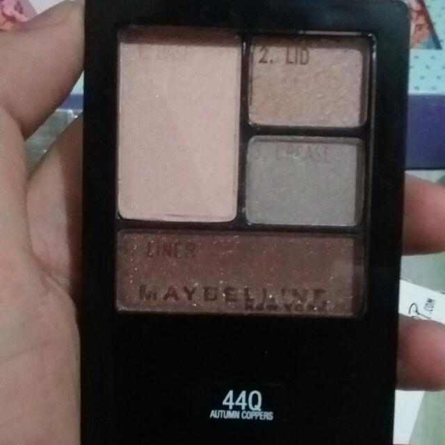 Maybelline Expert Wear Wuad Eyeshadow