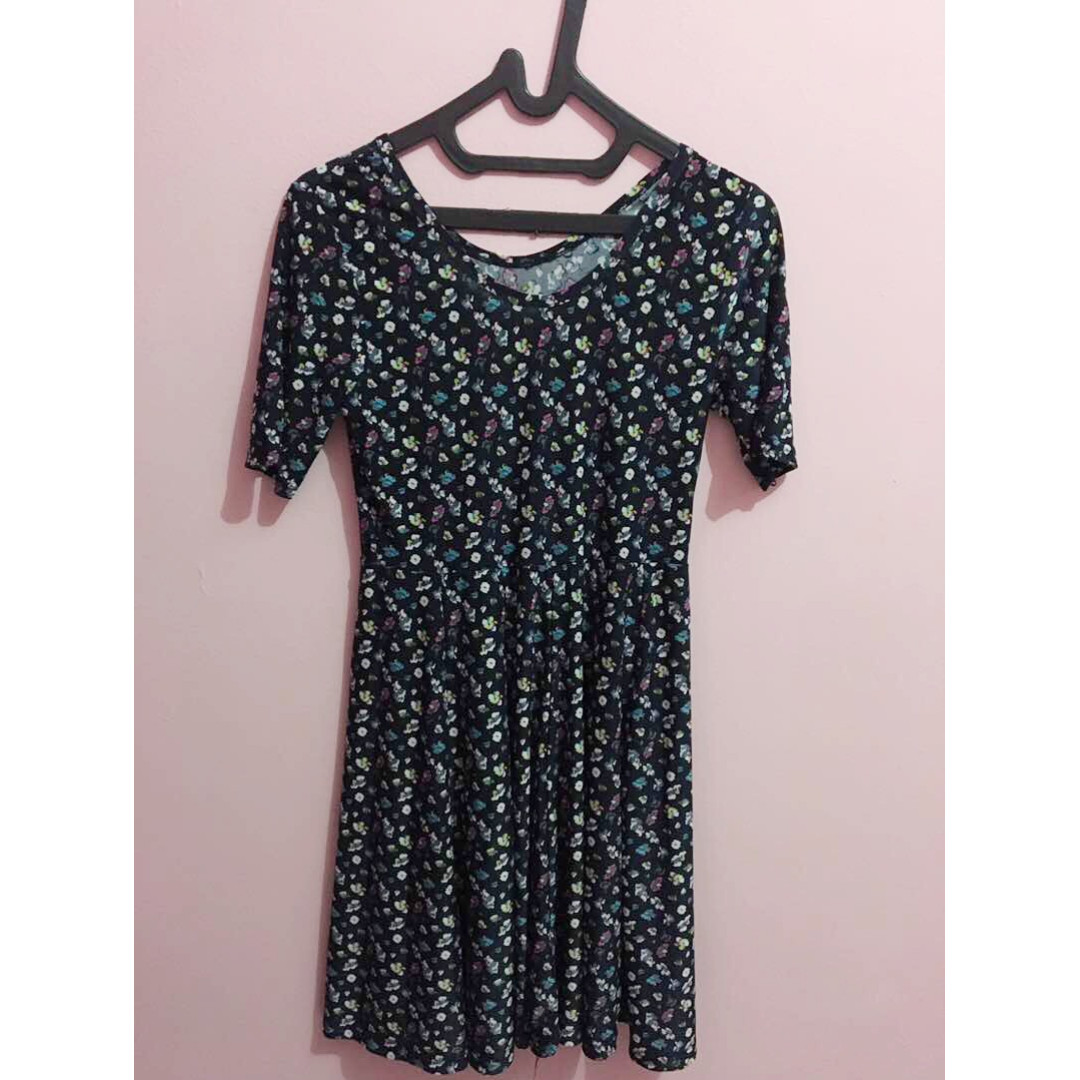 Mini Dress Navy