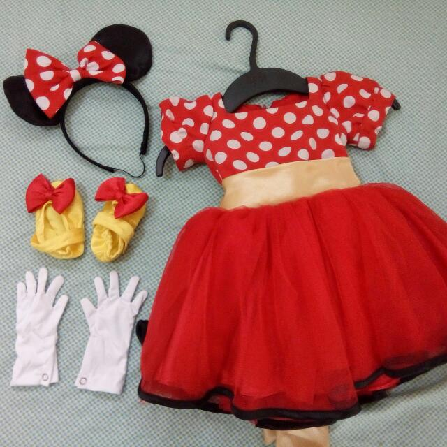 Super Adorable Minnie Mouse Costume