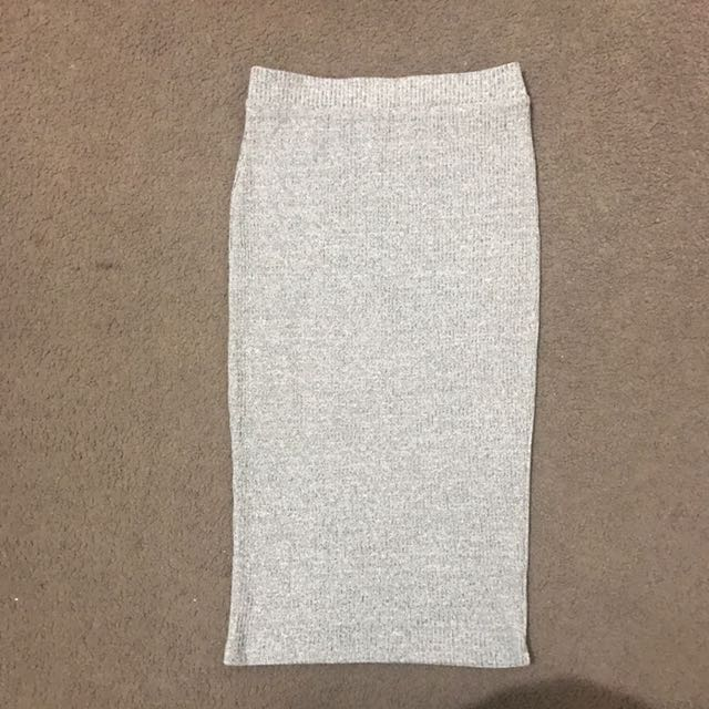 Miss Shop High Waisted Pencil Skirt