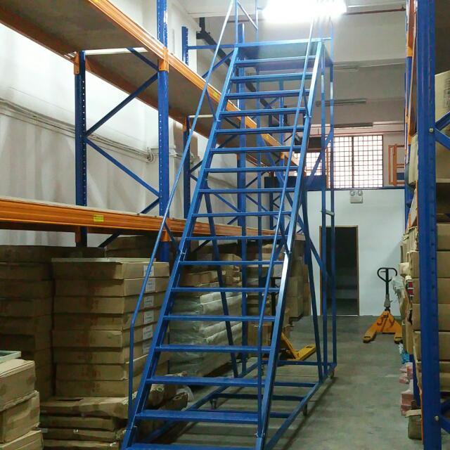 mobile ladder trolley