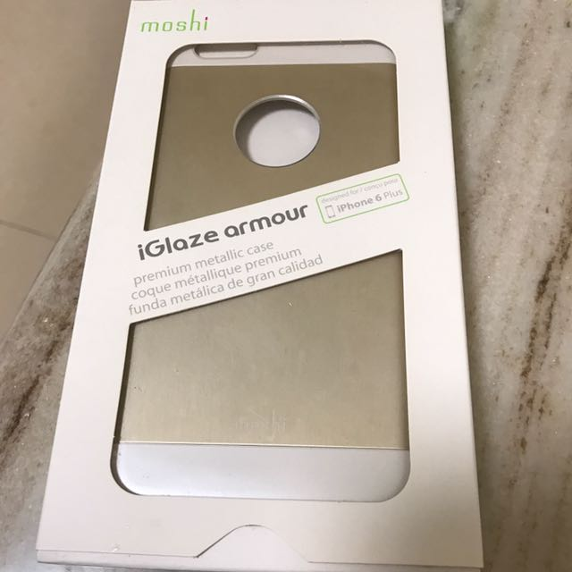 moshi 手機殼 金色 Ihpone6 6s可使用