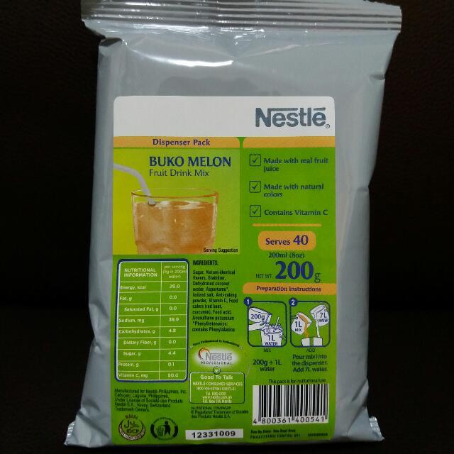 Nestle Buko Melon