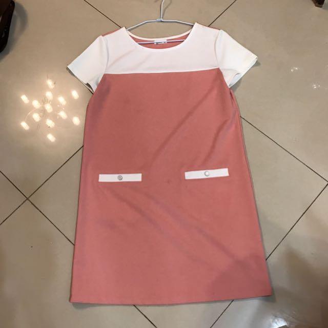 NET紅白洋裝