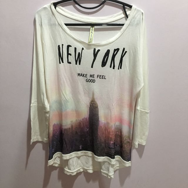 New York Longsleeve (Stradivarius)