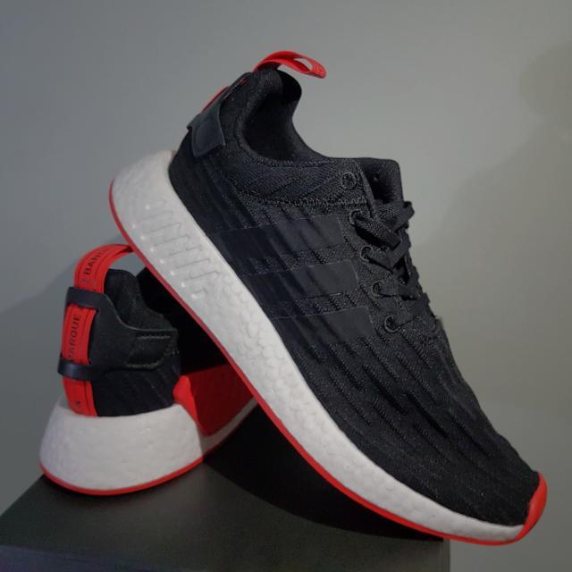 super popular 617ce 02b58 NMD R2 Black/Red