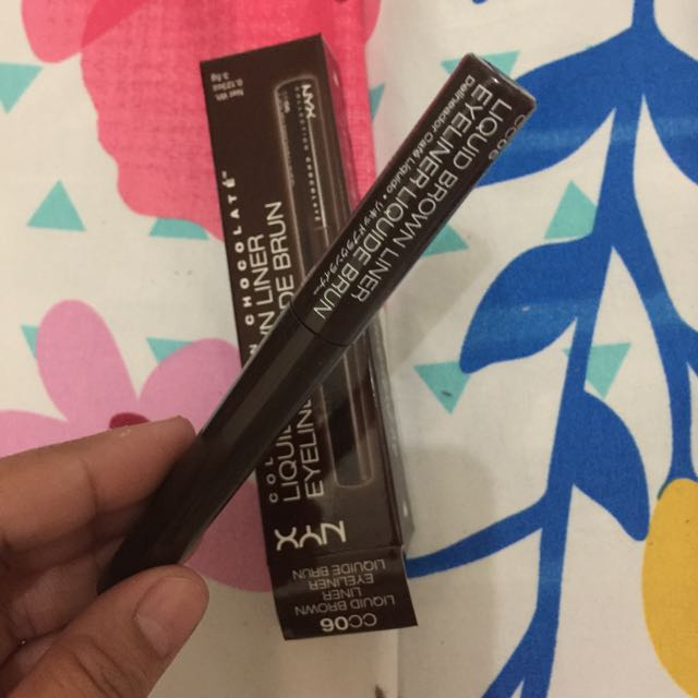 NYX Cosmetics Collection Chocolate -LIQUID BROWN LINER (CC06)