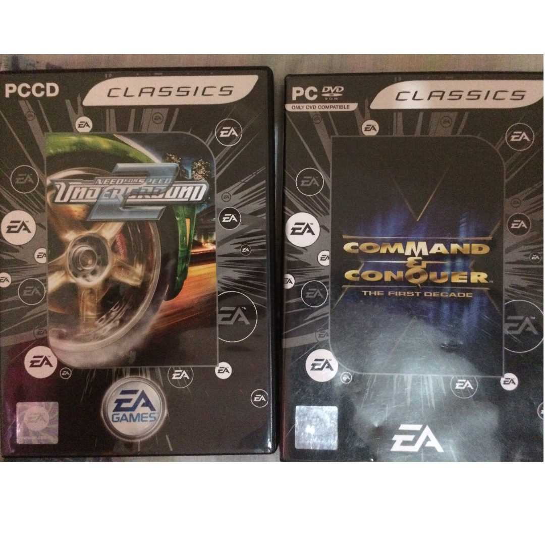 Original Classics / Command and Conquer and Need For Speed Underground