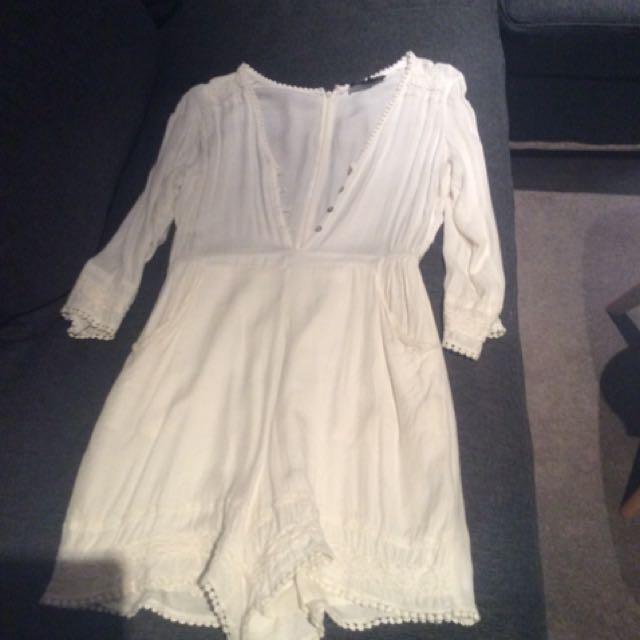 Oxford Ivory Jumpsuit