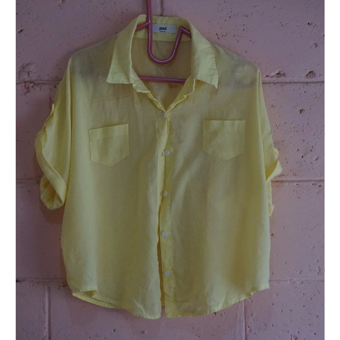 Paul Korean Yellow Top