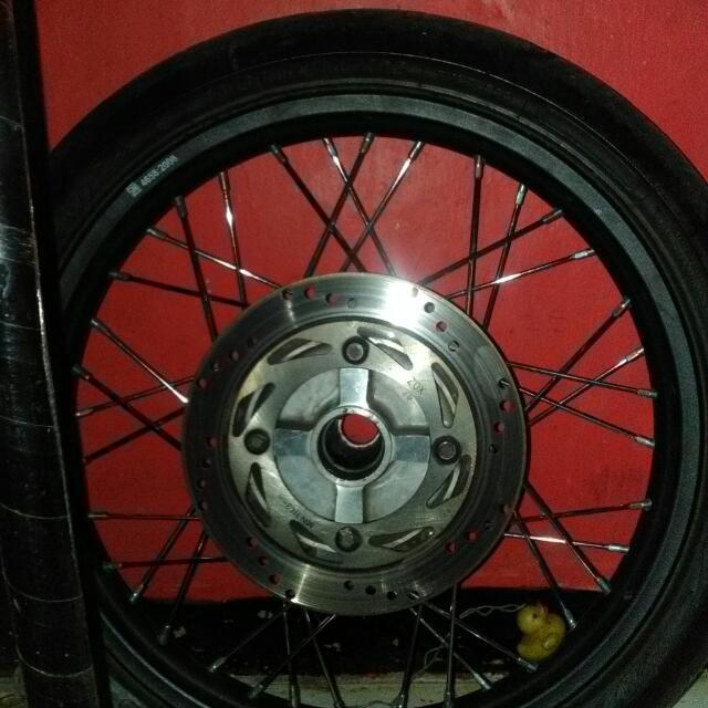 Peleg Ninja Rr 150 Warna Black Plus Ban