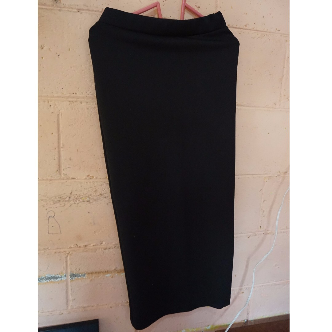 Pencil Skirt (Black)