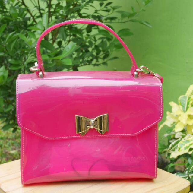 Pink Jelly Bag, Hermes, Look Like