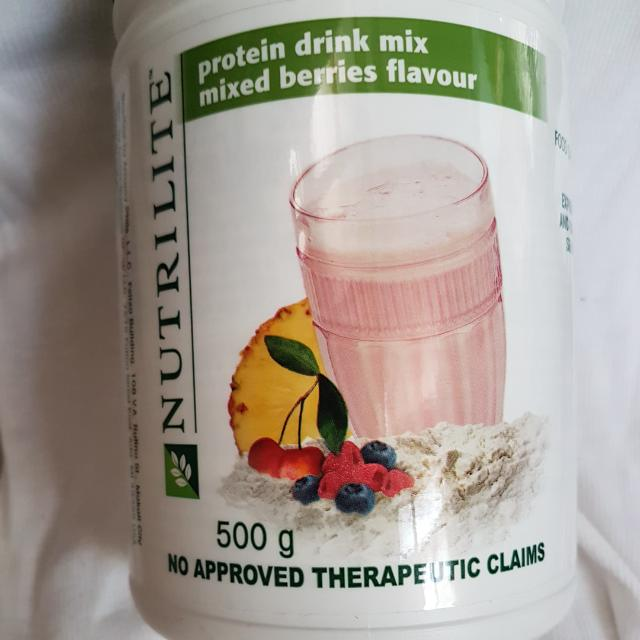 Protein Drink Mix (Mixed Berries Flavour)