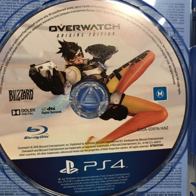 Ps4 game overwatch