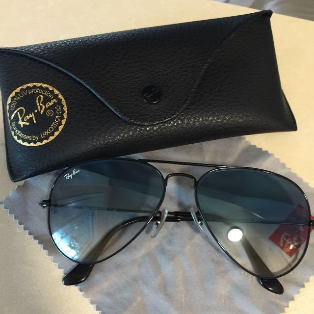 Ray Ban Light Blue Aviator Sunglasses
