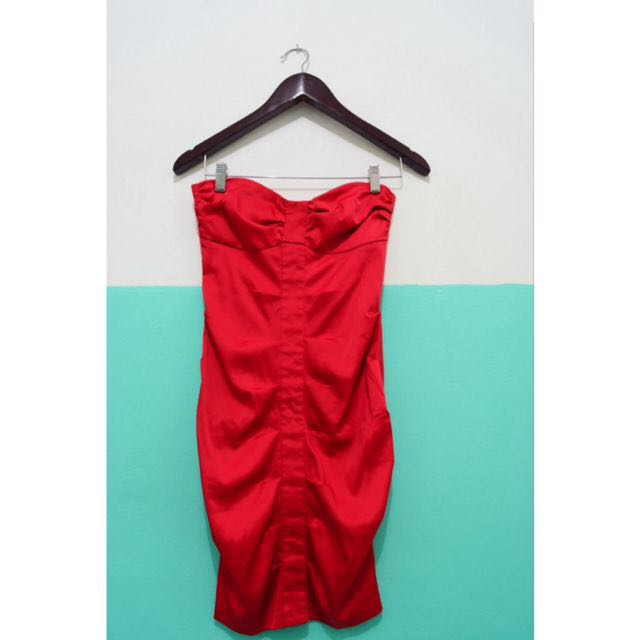 Red Tube Dress NEGO