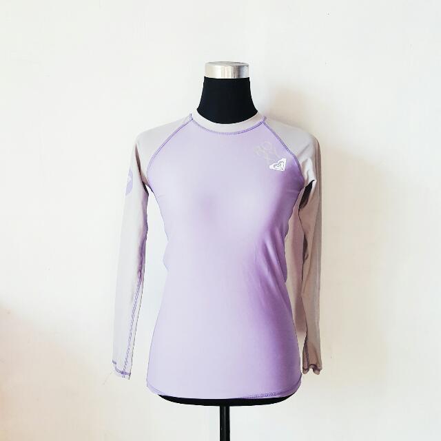 Roxy Purple Rashguard