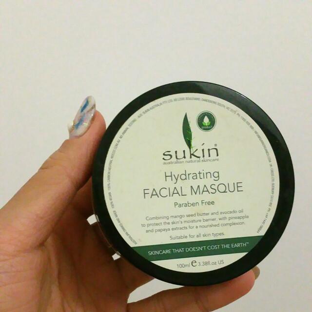 Sukin Hydration Face Mask