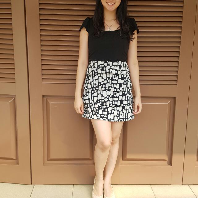 The Executive Mini Ruffle Dress