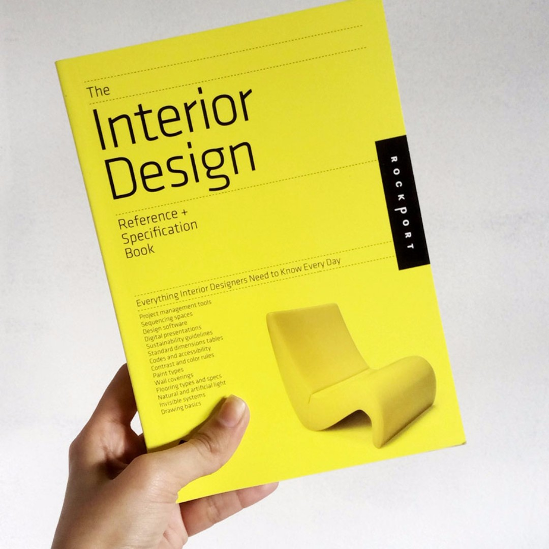 Interior design reference books for Interior design reference images