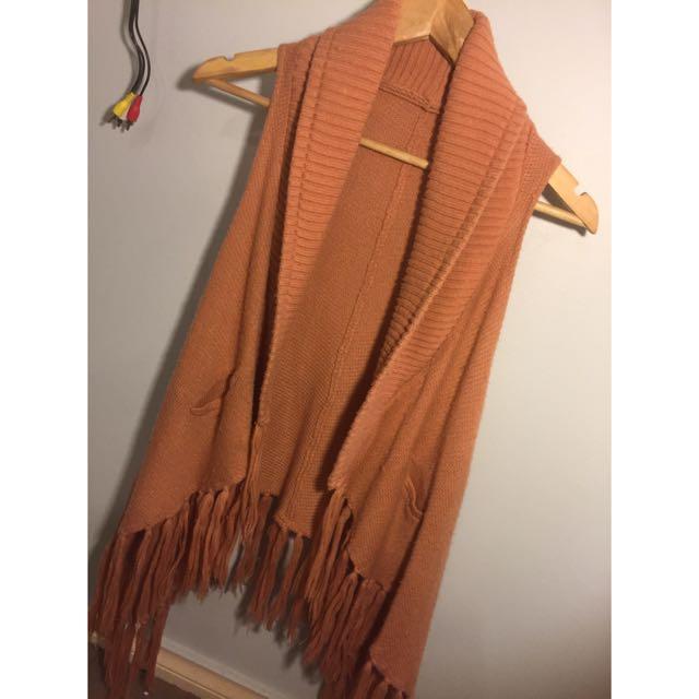 Topshop Festival Tassel Knit