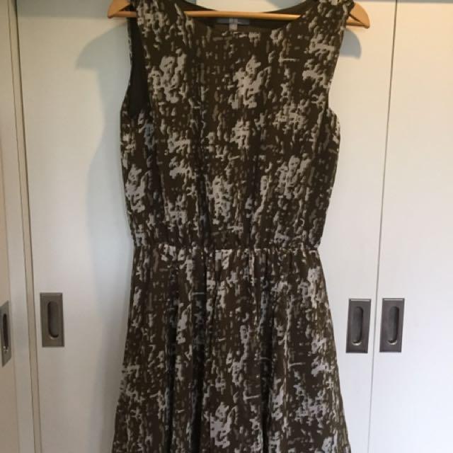 Uniqlo Olive Green Dress