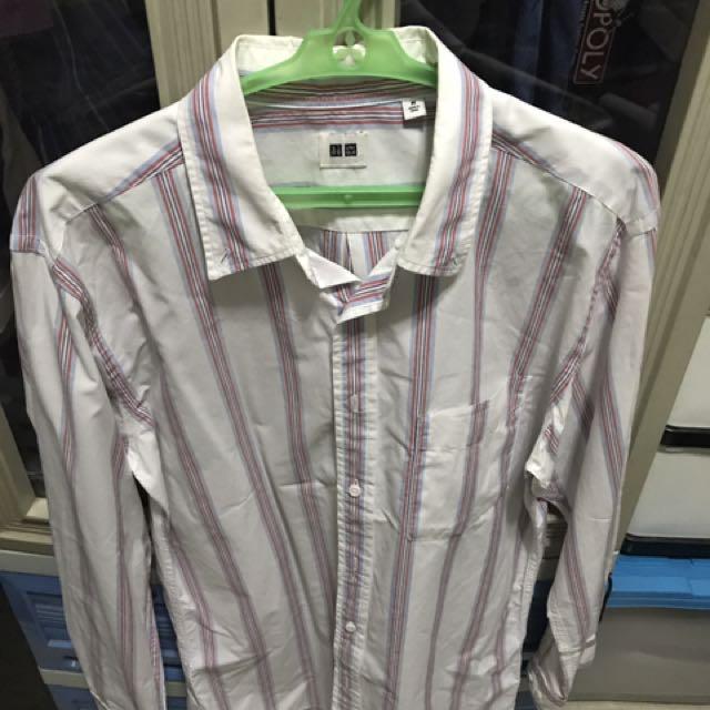 Uniqlo Polo Long Sleeves (Medium)