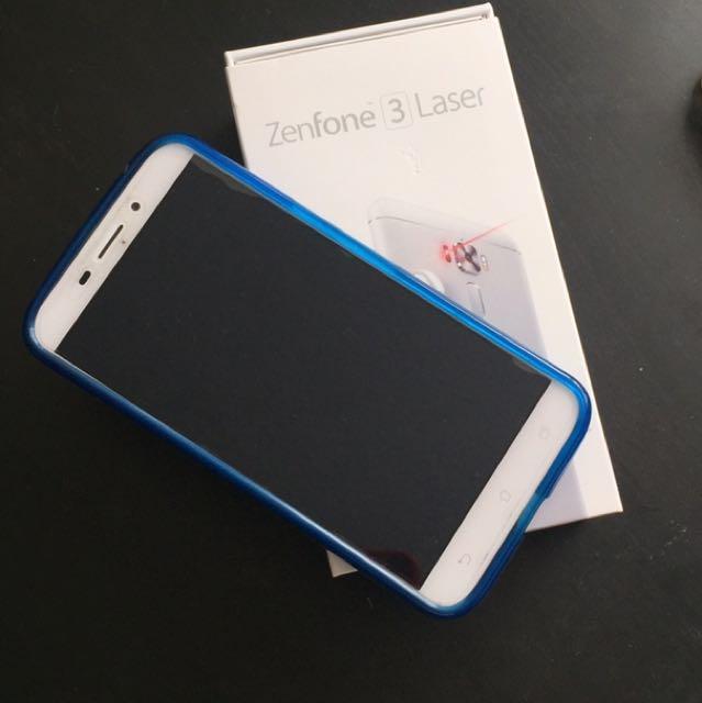 Unlocked Zenfone 3 Laser 32 GB and headphone JVC In-Ea
