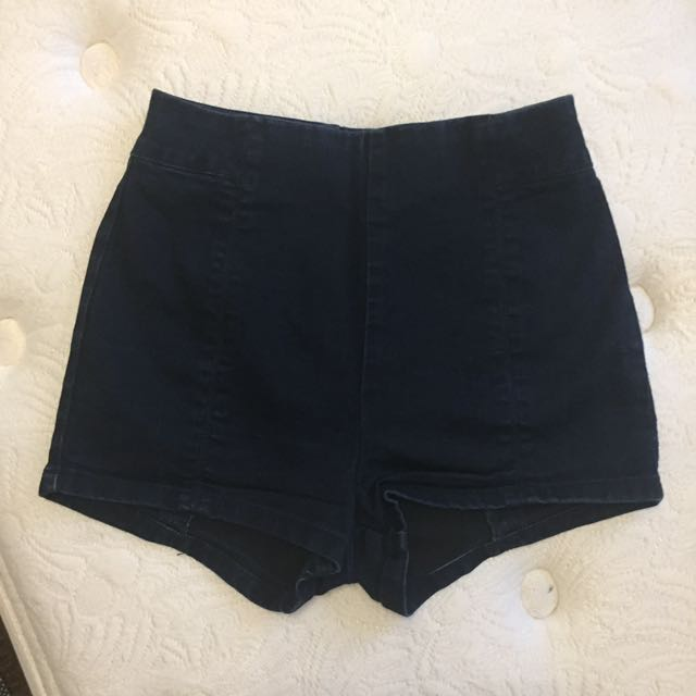 urban outfitters navy blue shorts