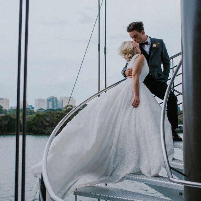 Wedding Dress/Gown - Custom Made 2017