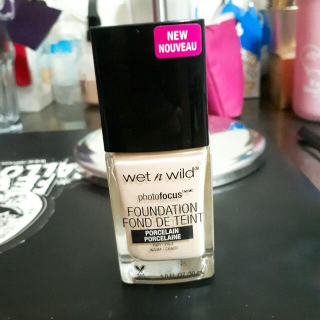 Wet n wild粉底