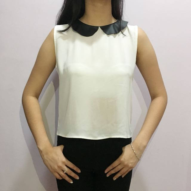 White Simple Blouse (Colorbox)