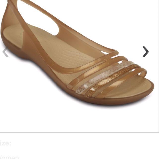 1a4b771692ee8 Women s Crocs Isabella Huarache Flat