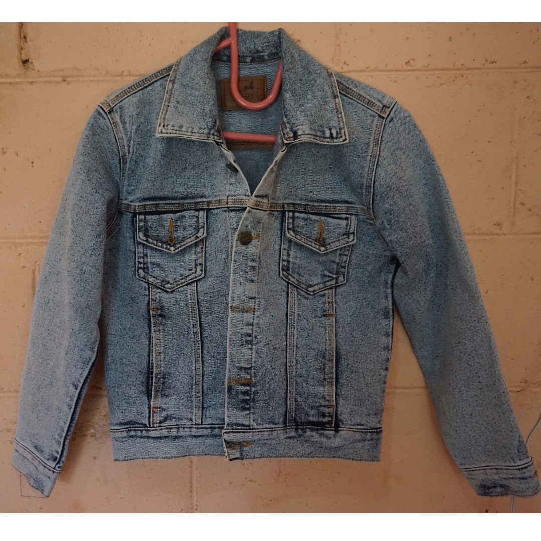 Women's Trucker (Jeans Jacket) Wash