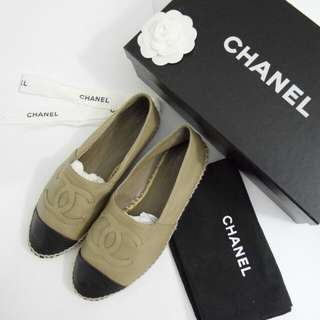 CHANEL Espadrilles Single Sole 尺寸37號